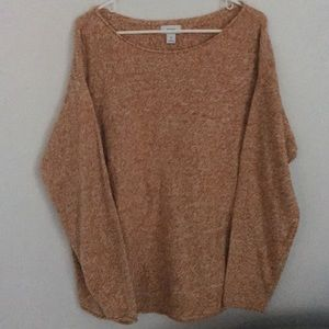 Old Navy Sweater Orange White Size XXL